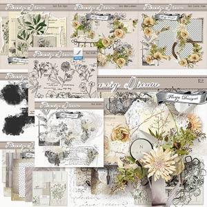 Flowery Dream { Bundle PU } by Florju Designs