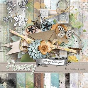 Flowery { Kit PU } by Florju Designs