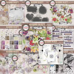 Garden Party {Bundle PU } by Florju Designs