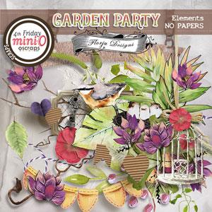 Garden Party { Elements PU } by Florju Designs