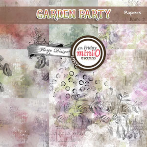 Garden Party { Papers Pack 2 PU } by Florju Designs