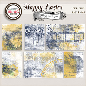 Happy Easter { Cards PU } by Florju Designs