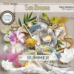 Sea Breeze { Element PU } by Florju Designs