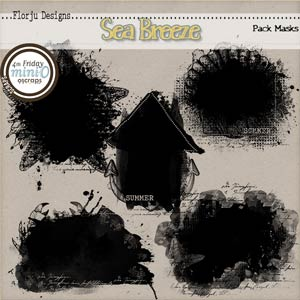 Sea Breeze { Mask PU } by Florju Designs