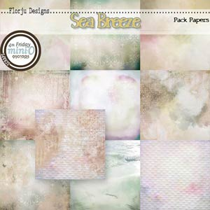 Sea Breeze { Papers PU } by Florju Designs