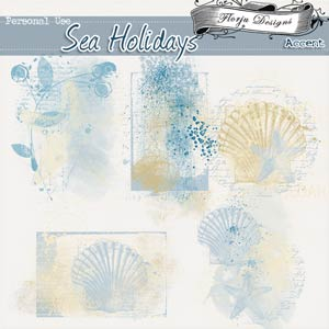 Sea Holidays { Accents PU } by Florju Designs