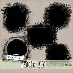 Tendre Ete { Mask PU } by Florju Designs