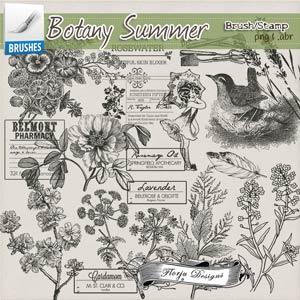 Botany Summer { Mix Brush PU } by Florju Designs
