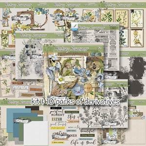 Botany Summer { Bundle PU } by Florju Designs
