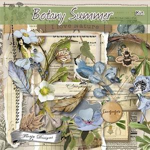 Botany Summer { Kit PU } by Florju Designs