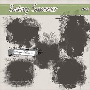 Botany Summer { Mask PU } by Florju Designs