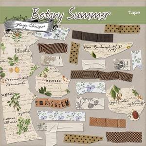 Botany Summer (Washi Tape PU) by Florju Designs