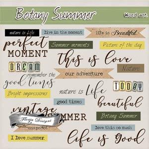 Botany Summer { English WA PU } by Florju Designs
