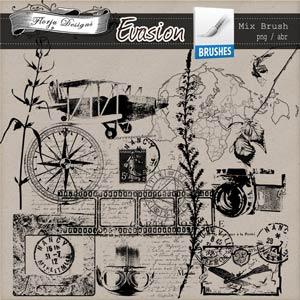Evasion { Brush/Stamp PU } by Florju Designs