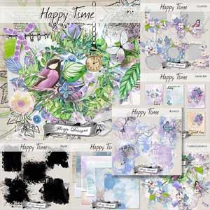 Happy Time { Bundle PU } by Florju Designs