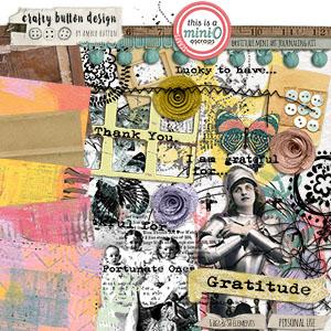 Gratitude Mini Art Journaling Kit