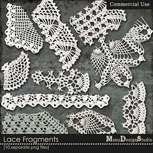Lace Fragments - CU