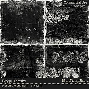 Page Masks - CU
