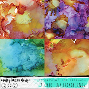 Alcohol Ink Backgrounds for Commercial Use