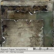 Ripped Paper Templates  2