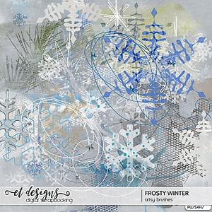 Frosty Winter Artsy Brushes