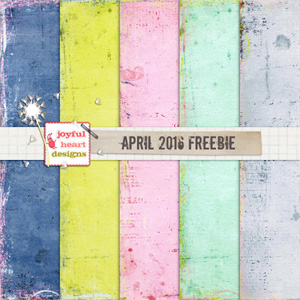 April 2016 Freebie