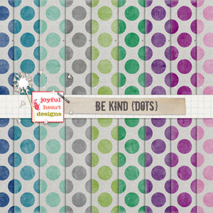 Be Kind (dots)