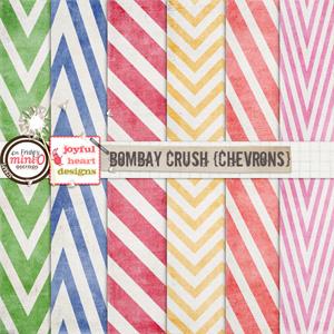 Bombay Crush (chevrons)