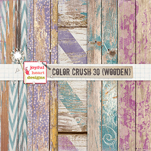 Color Crush 30 {wooden}