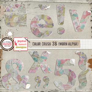 Color Crush 38 (worn alpha)