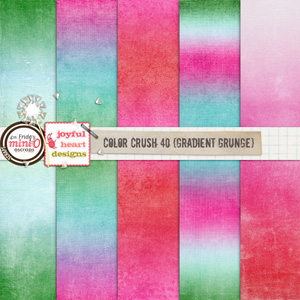 Color Crush 40 (gradient grunge)