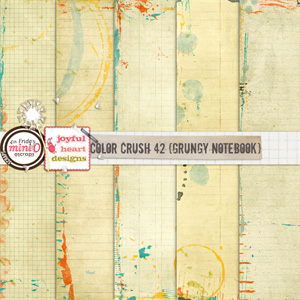 Color Crush 42 (grungy notebook)