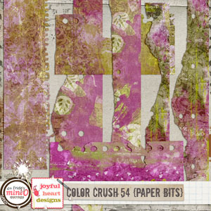 Color Crush 54 (paper bits)