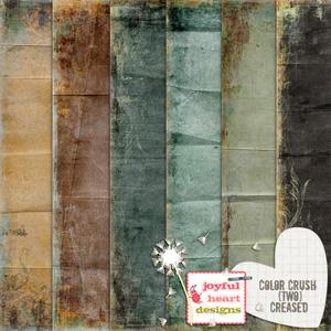 Color Crush 2 (creased) plus BONUS papers