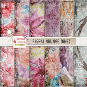 Floral Grunge (one)