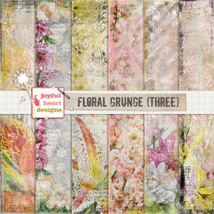 Floral Grunge (three)
