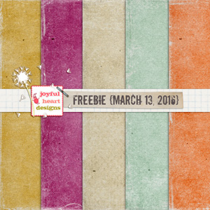 Freebie (March 13 - 2016)