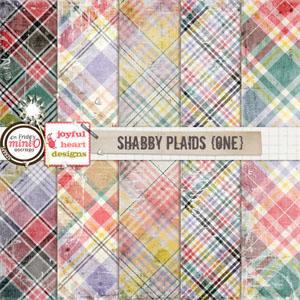 Shabby Plaids (one)