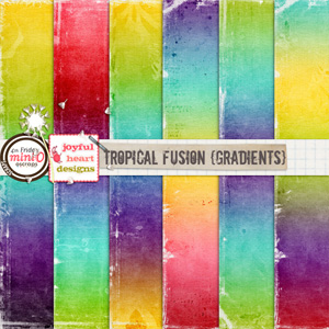 Tropical Fusion (gradients)
