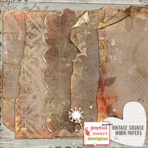 Vintage Grunge (worn papers)