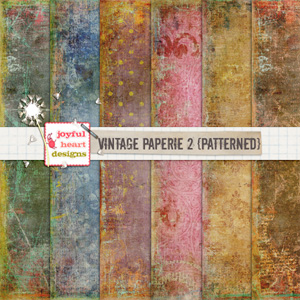 Vintage Paperie 2 (patterned)