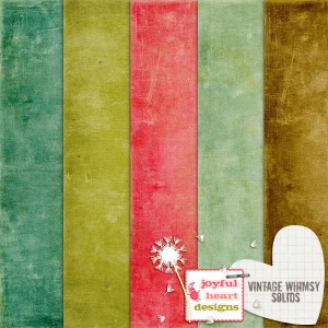 Vintage Whimsy (solids)