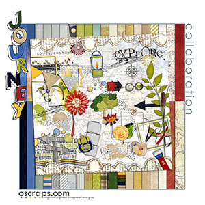 jOurney :: Oscraps Collaborative Kit