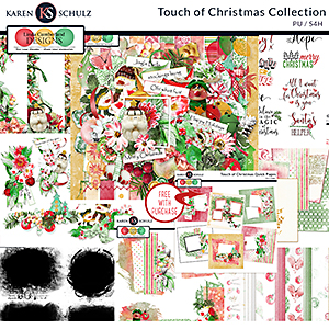 Touch of Christmas Collection by Karen Schulz and Linda Cumberland