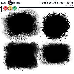 Touch of Christmas Masks by Karen Schulz and Linda Cumberland