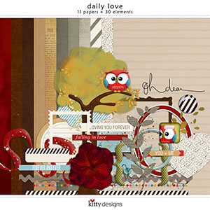 Daily Love Mini Kit by Kitty Designs