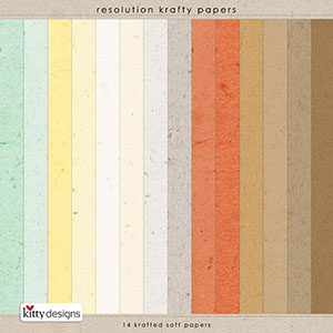 Resolution Krafty Papers