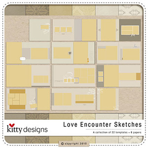 Love Encounter Sketches (Template)