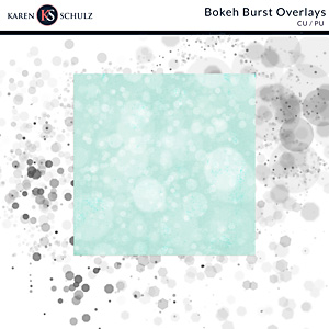 Bokeh Burst Overlays