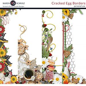 Cracked Egg Borders